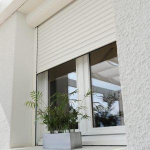 VISIO 132 blanc sous linteau